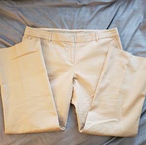 Tory Burch Khaki Cropped Pants